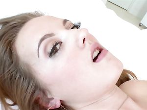 Young Teen Cocksucker Fucked In Her Bald Pussy