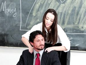 Petite Schoolgirl And Her Older Teacher Fucking Wildly