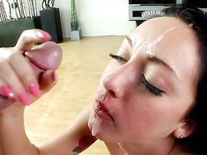 Feeding His Lady Watermelon And Big Cock