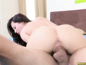 Cute Teen Fucked By A Super Thick Cock