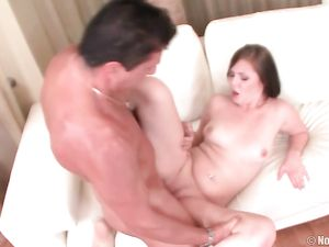 Cunt Modeling Teen Cutie Gives Him A Sexy Blowjob
