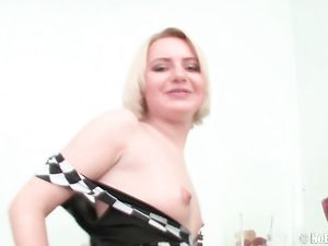 Giant Dildo Sex Is Foreplay For This Anal Slut