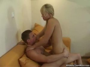 Blonde Teen Blowjob Artist Fucked By Her Man