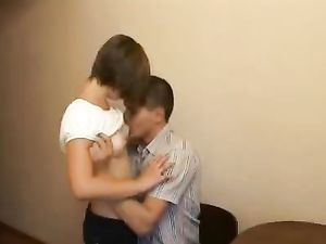 Teen Foreplay Has His Lady Wet With Hardcore Lust