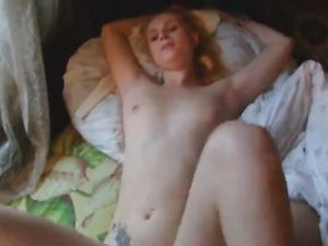 Pretty Amateur Blonde Rides A Big Cock Lustily