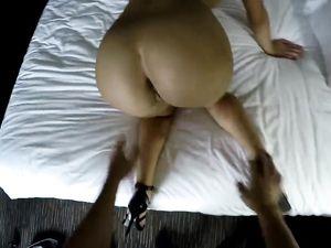 Smoking Hot Panties On The Big Ass Hooker He Fucks
