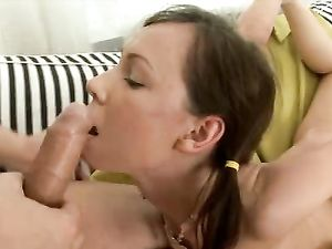 Teen Takes An Ass Fucking In Close Up