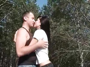 Fucking In The Forest With An 18 Year Old Slut