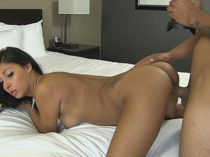 Hot Girl With A Great Body Goes For A Dick Ride