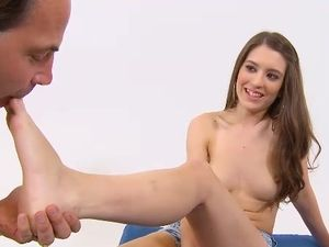 Beautiful BJ From A Teenager On Her Knees