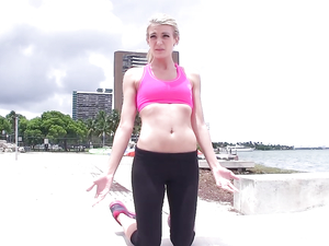 Fucking Is The Best Kind Of Workout For This Blonde