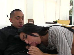 Eager Latina Cock Slut Needs Him Inside Her
