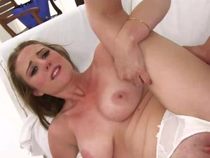 Stretching Hot Slut Sam Summers With His Big Cock