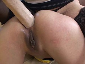Sluts Screwed Anally By A Big Cock And A Bigger Toy