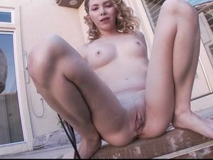 Angel Smalls Oiled From Head To Toe For Hot Fucking
