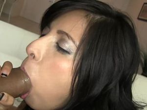 Latina Teen Pussy Satisfied By A Big Cock
