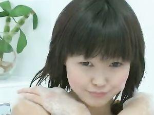 Orgasm For An Asian Teen In The Bathtub
